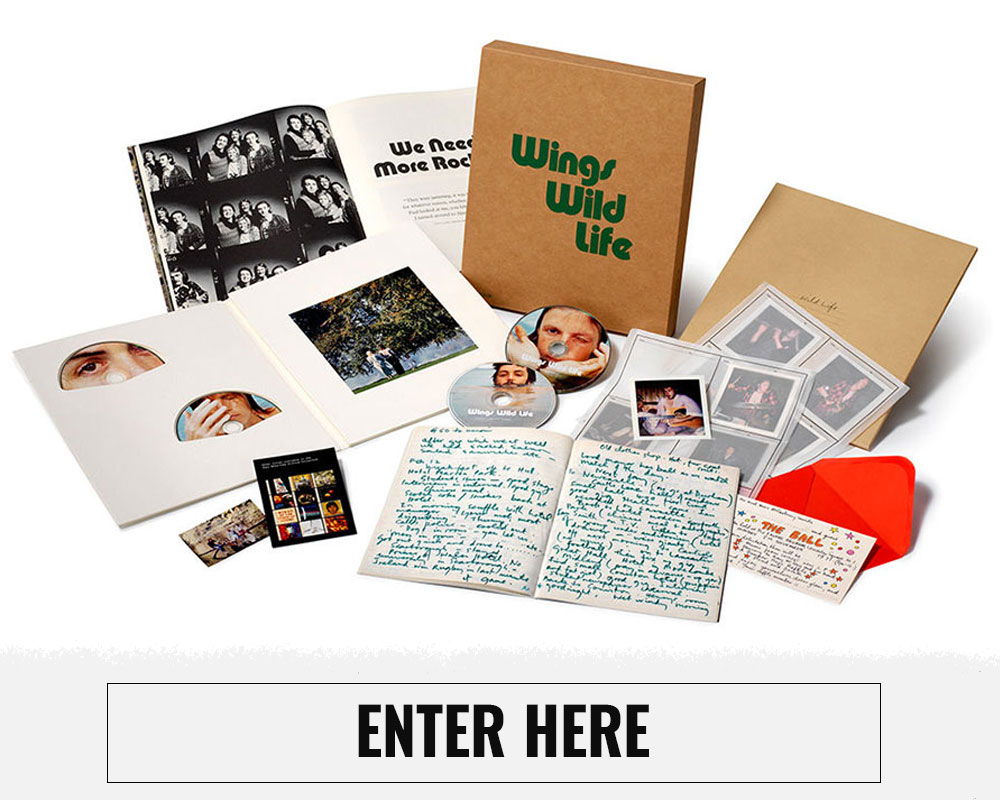Paul McCartney Giveaway