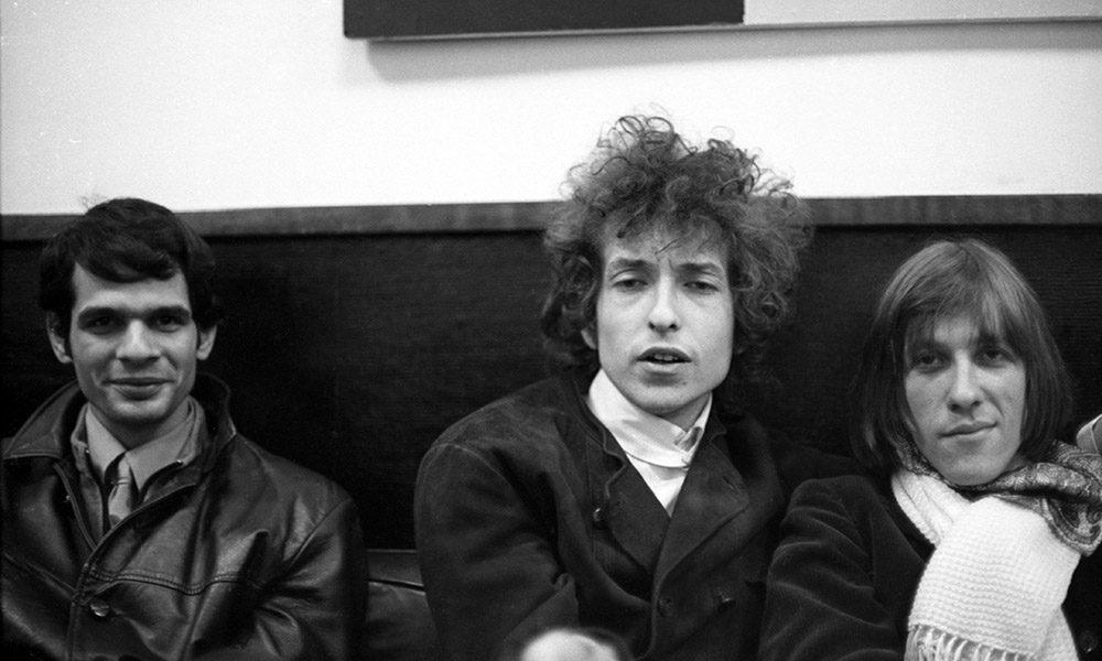 Al Kooper with Bob Dylan and Doug Sahm