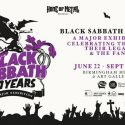 Black Sabbath Exhibition Coming To The Band's Home Town Of Birmingham