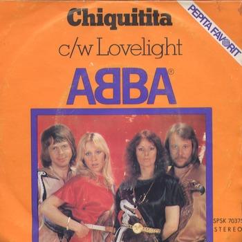 Chiquitita ABBA orange