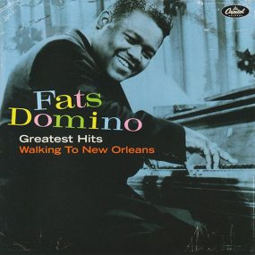 Fats Domino Walking To New Orleans Capitol