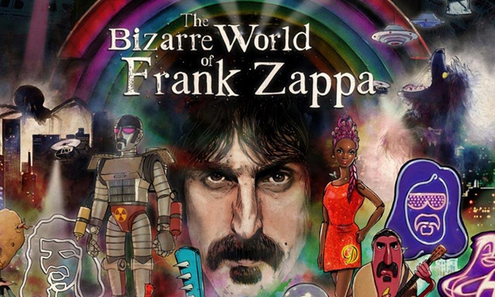 Frank Zappa hologram poster
