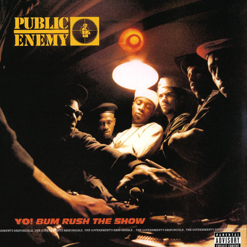 Public Enemy Yo! Bum Rush The Show hip-hop album cover web optimised 820