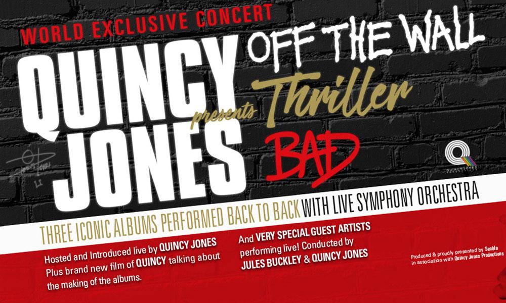 Quincy Jones London 02 Show