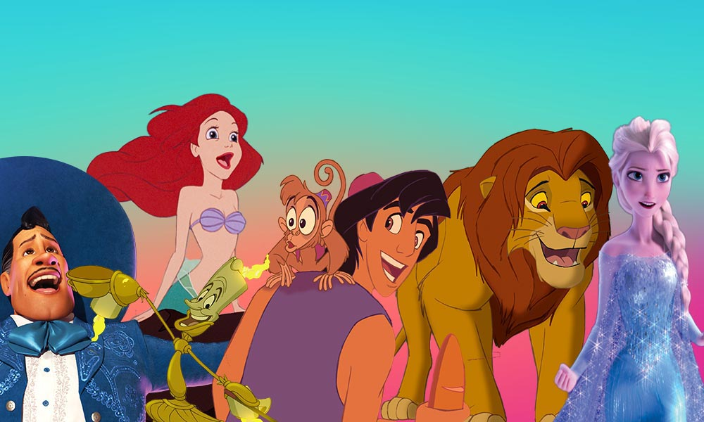 singers behind the best Disney songs