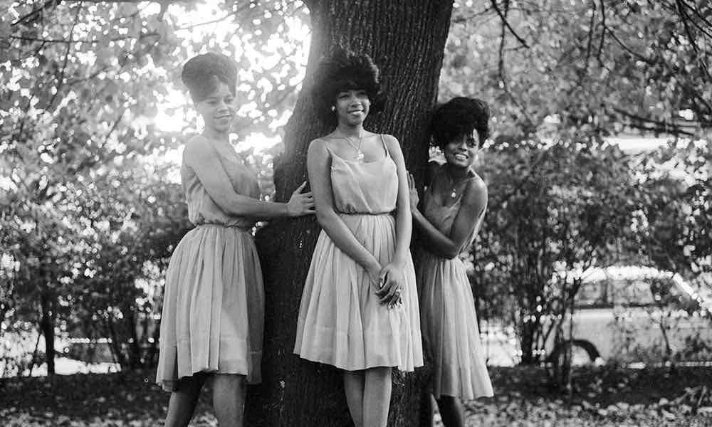 Supremes with Florence Ballard on left