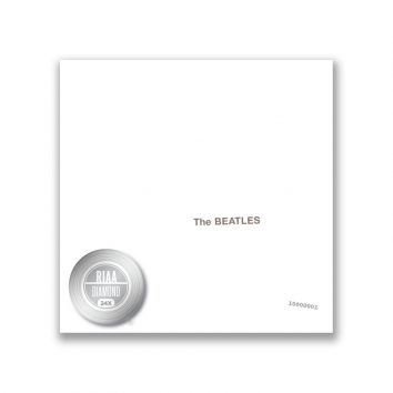 The Beatles White Album RIAA Diamond