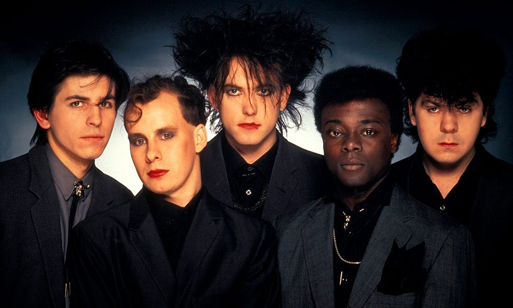 The Cure photo by Fin Costello and Redferns