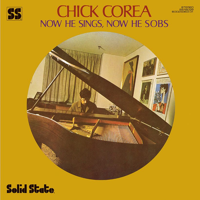 Chick Corea Now He Sings, Now He Sobs album cover web optimised 1000