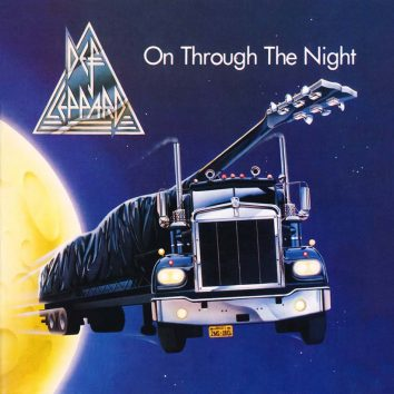 Def Leppard On Through The Night album cover web optimised 820