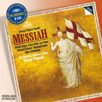 Handel Messiah - Trevor Pinnock album cover