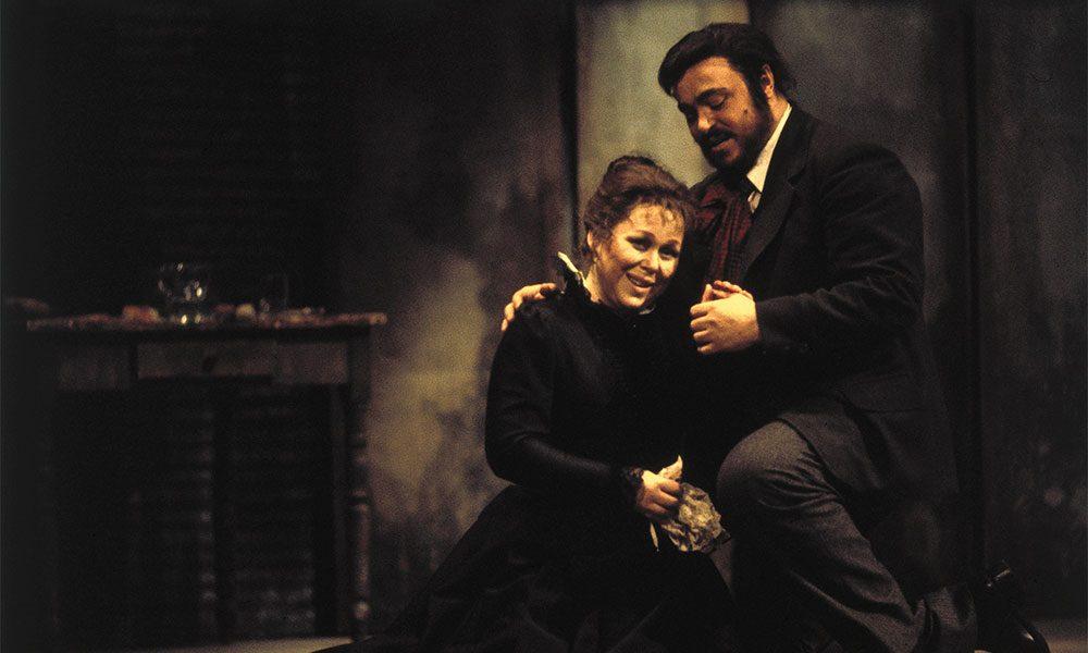 La Boheme Pavarotti photo