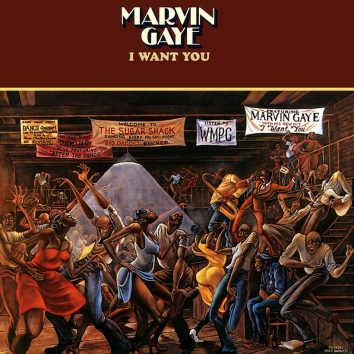 Marvin Gaye I Want You album cover 820