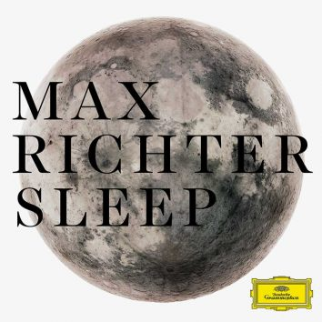 Max Richter Sleep album cover brightness