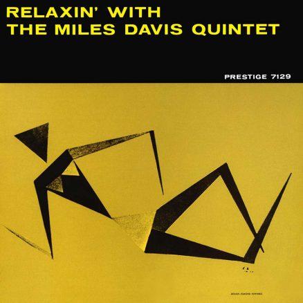 Miles Davis Quintet Relaxin Album Cover