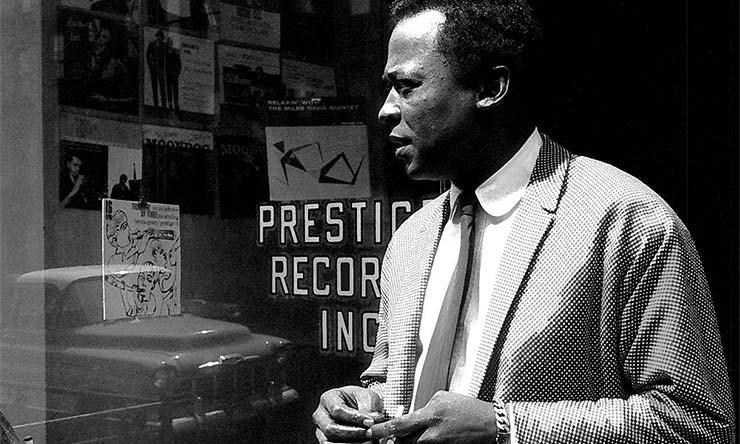 Miles Davis Prestige Press Shot Web optimised 740 CREDIT Esmond Edwards