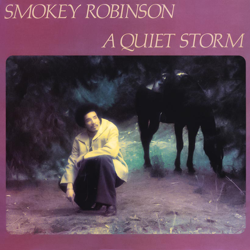Smokey Robinson A Quiet Storm album cover