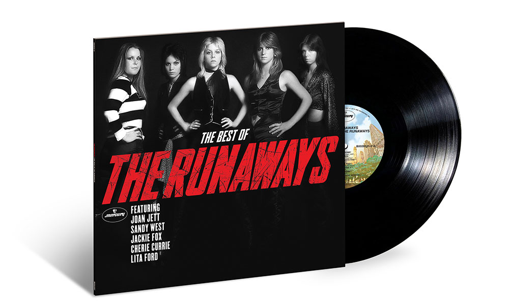 Best Of The Runaways black vinyl packshot