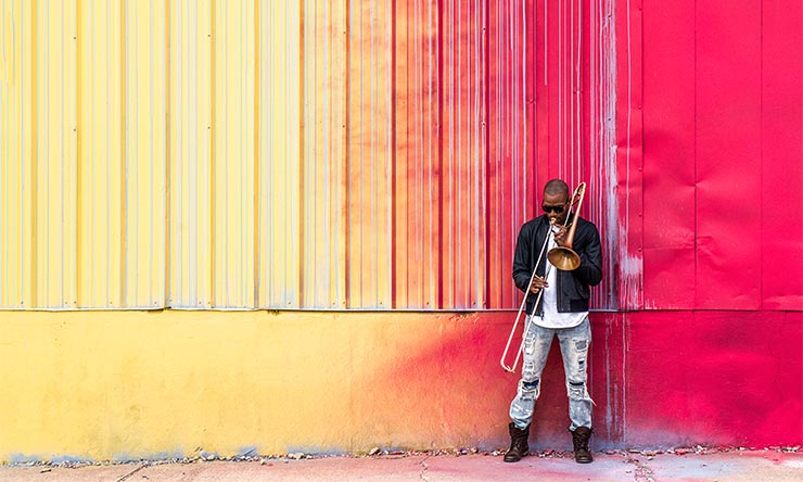 Trombone Shorty 2017 photo 02 CREDIT Mathieu Bitton web optimised 740