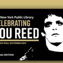 Lou Reed Archive Now Open To The Public At New York City Library