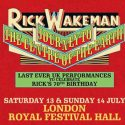 Rick Wakeman To Revisit 'Journey To The Centre Of The Earth' At London's Royal Festival Hall