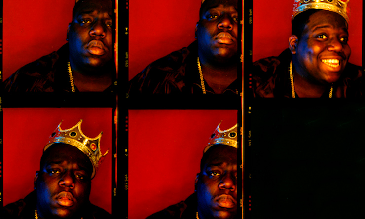Biggie-Smalls,-King-of-New-York-contact-sheet-(1997).-Photo-by-Barron-Claiborne.