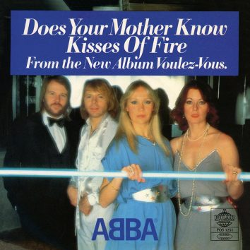 ABBA Does Your Mother Know single artwork web optimised 820