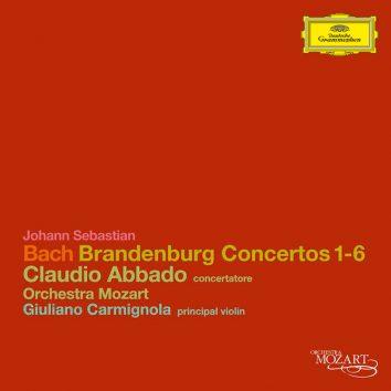 Bach Brandenburg Concertos Claudio Abbado cover