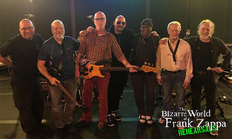 Bizarre World Of Frank Zappa rehearsals press shot 02 web optimised 740 CREDIT Frank Zappa Trust