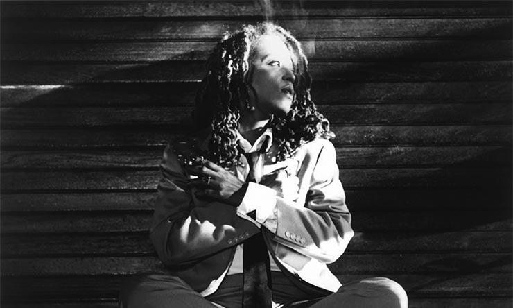 Cassandra Wilson black and white
