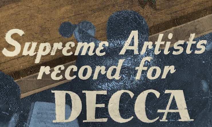 Decca ad