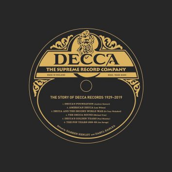 Decca The Supreme Record Company book cover