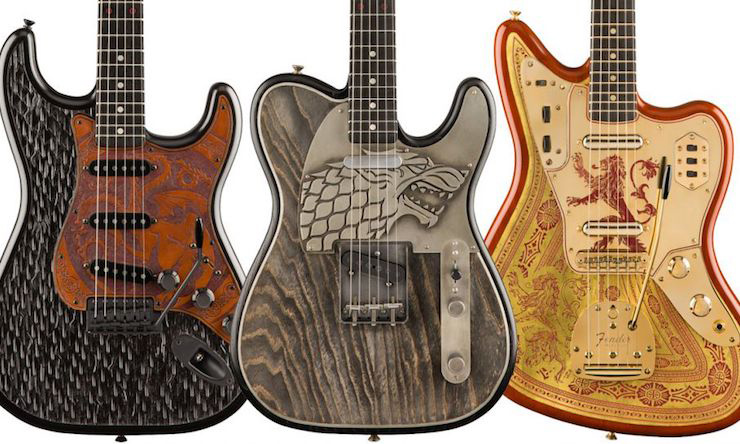 Fender Game Of Thrones Guitars