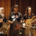 Watch Scott Ian, Tom Morello And Nuno Bettencourt Play 'Game Of Thrones' Guitars
