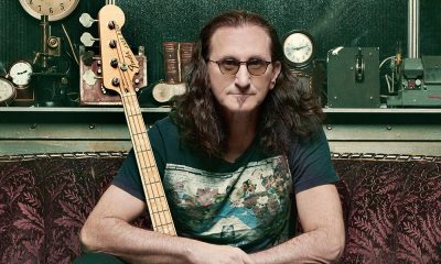 Geddy Lee 2019 Big Beautiful Book Of Bass press shot CREDIT Richard Sibbald