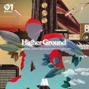 Higher Ground Marvin Gaye playlist art