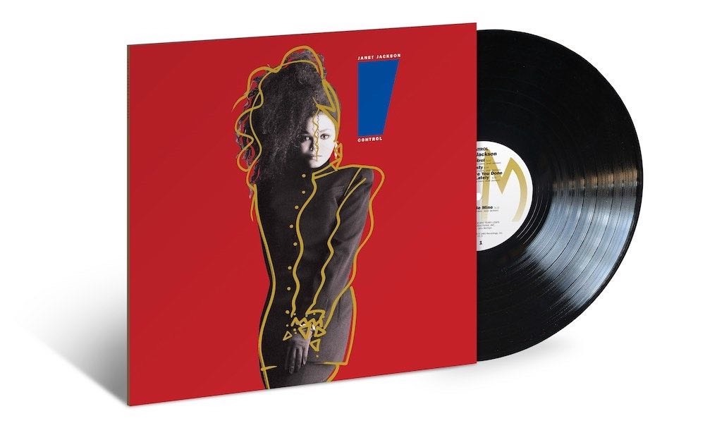 Janet Jackson's 1986 Classic 'Control' Returns On Black And Red Vinyl