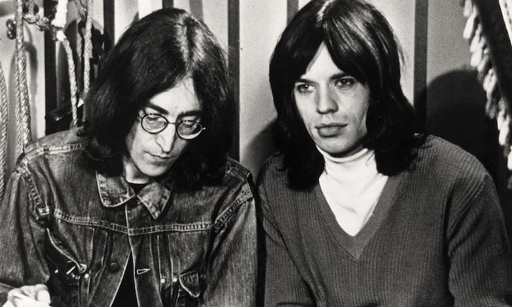 John Lennon Mick Jagger Rock & Roll Circus Michael Randolf