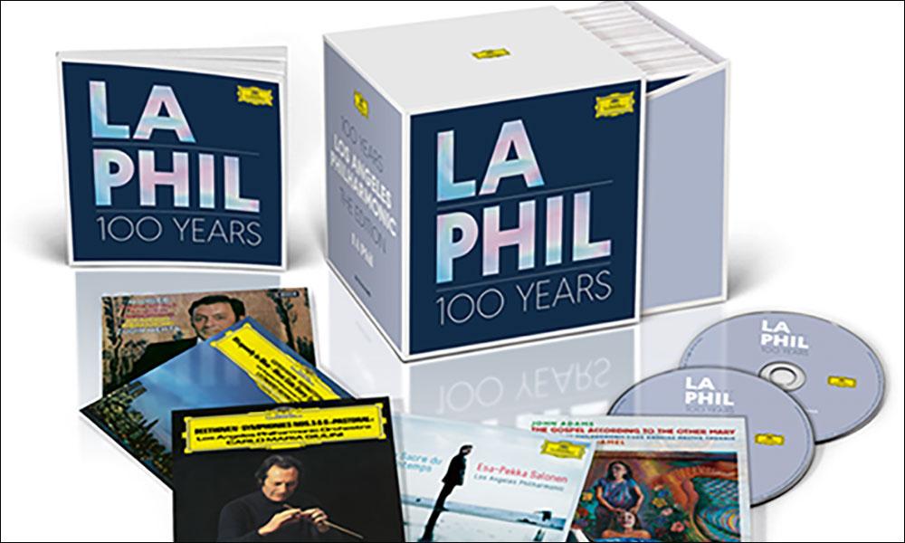 LA Phil 100 Years open box set