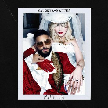 Madonna Maluma Medellin single artwork 820