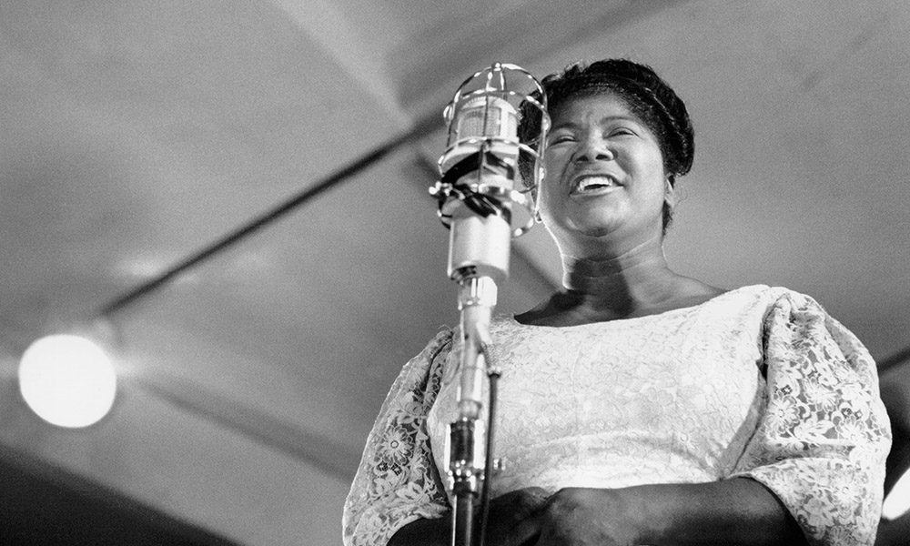 Gospel Music Legend Mahalia Jackson