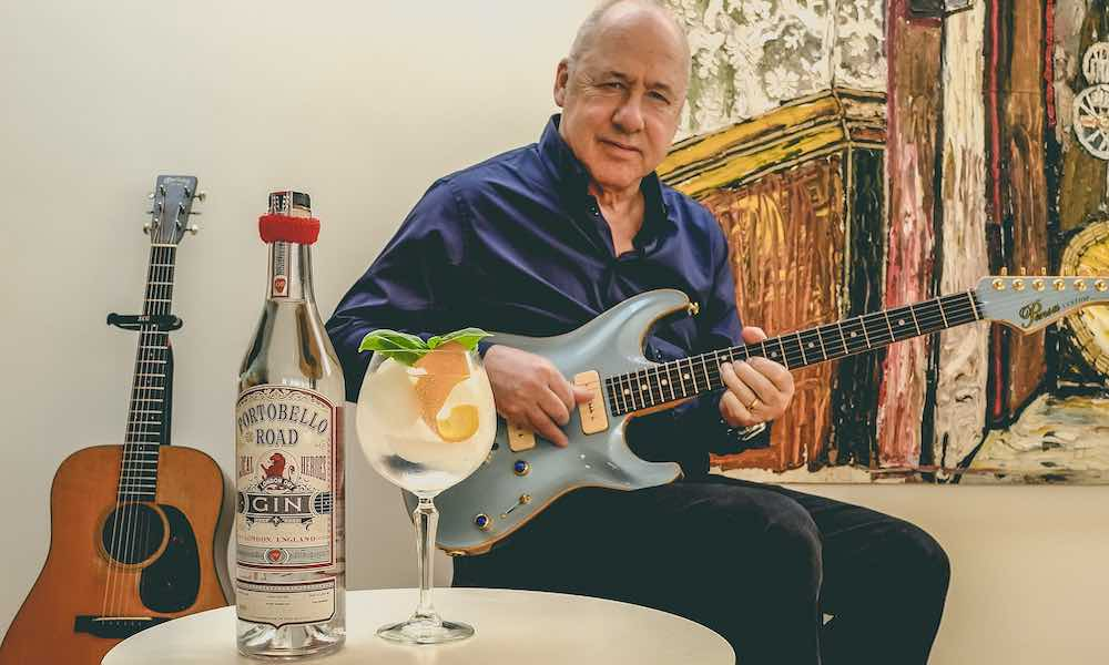 Mark Knopfler Portobello Road Gin promo