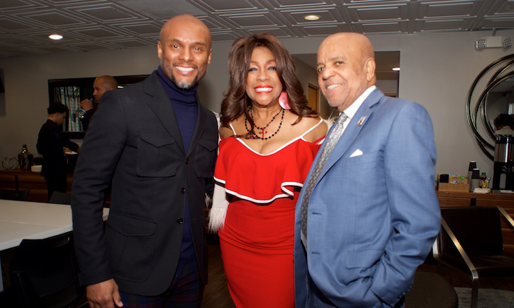 Mary Wilson And Berry Gordy