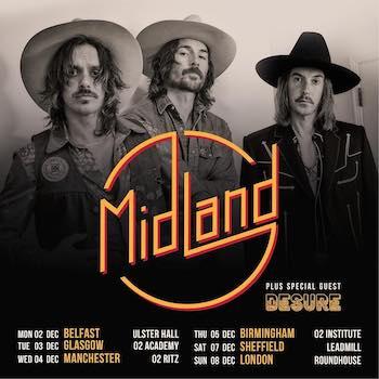 Midland UK tour 2019