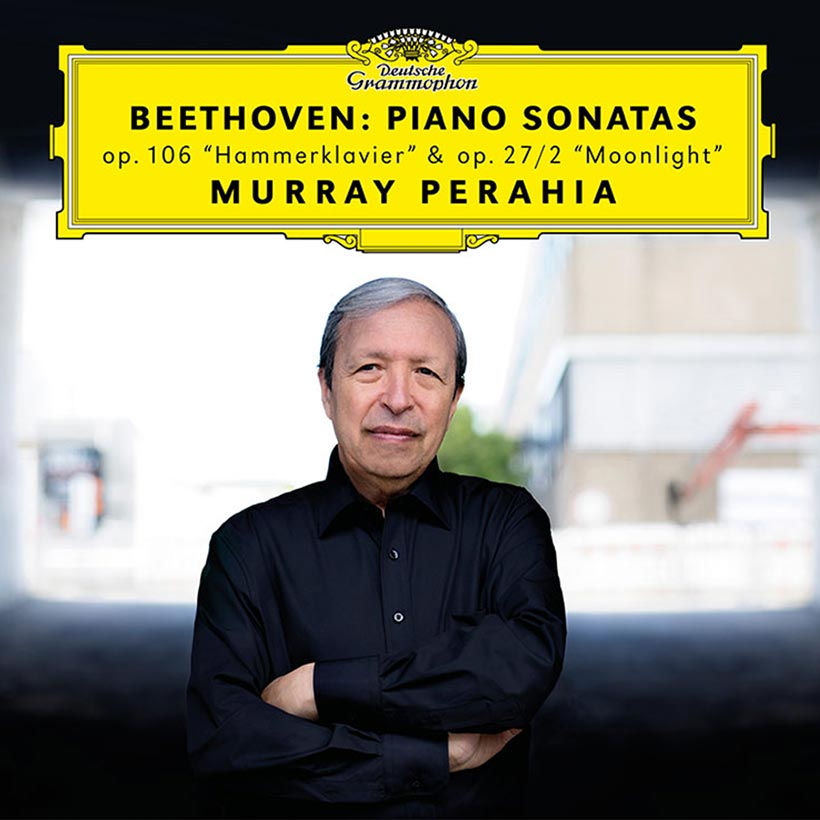 Murray Perahia Beethoven Sonatas cover