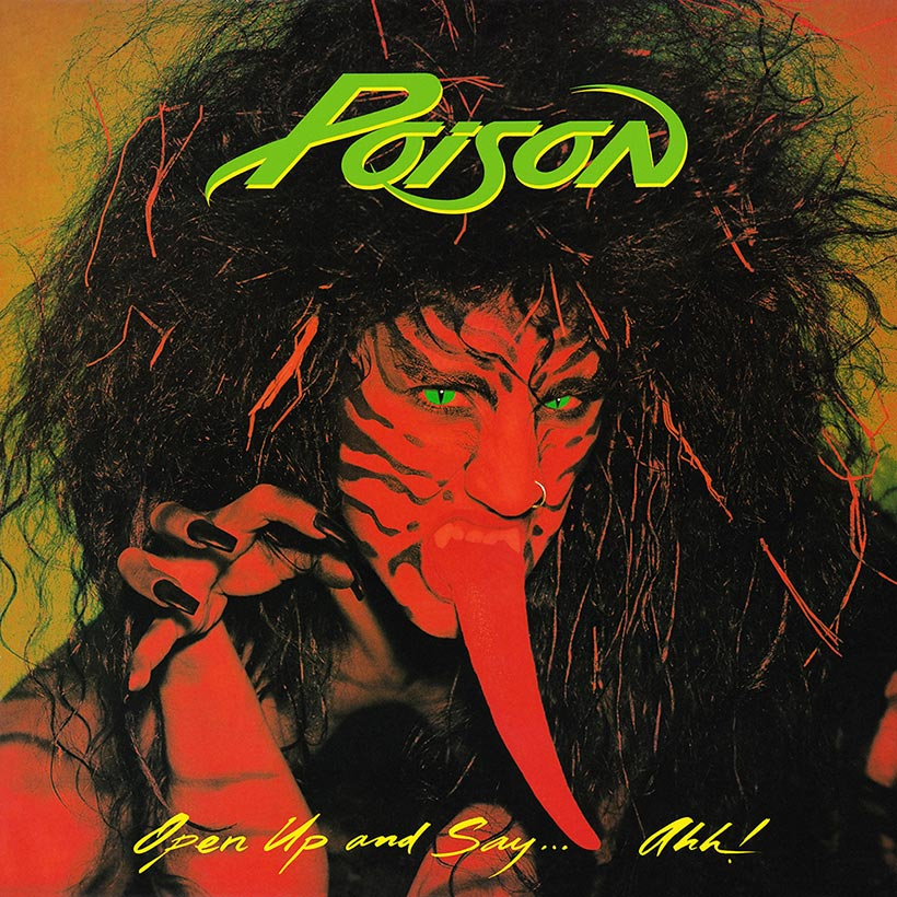 Poison Open Up And Say Ahh album cover web optimised 820