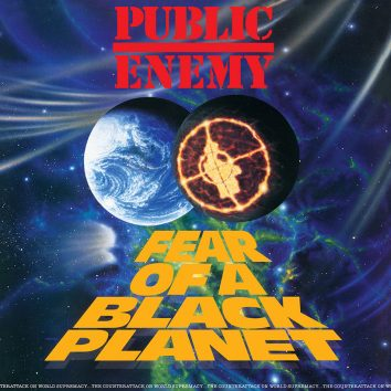 Public Enemy Fear Of A Black Planet Album Cover