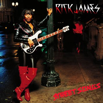 Rick James Street Songs album cover