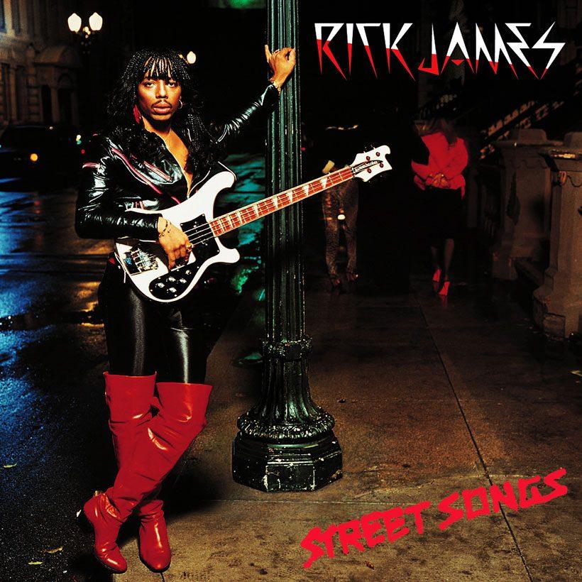 Rick James Street Songs album cover
