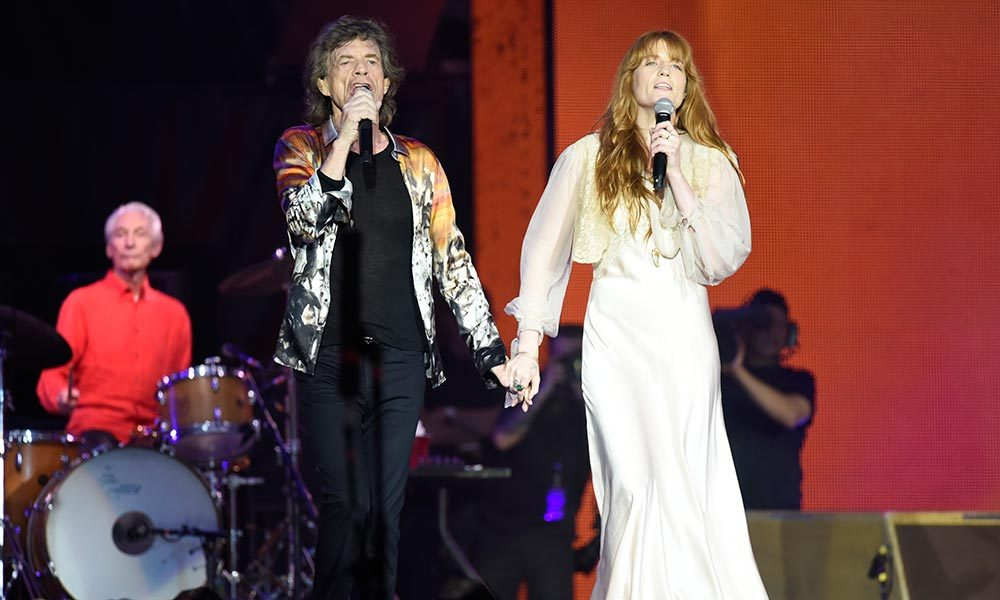 Rolling Stones Wild Horses With Florence Welch